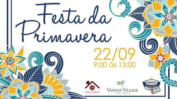 Festa da Primavera no Vianna Village