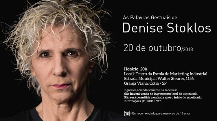 Denise Stoklos na Granja Viana