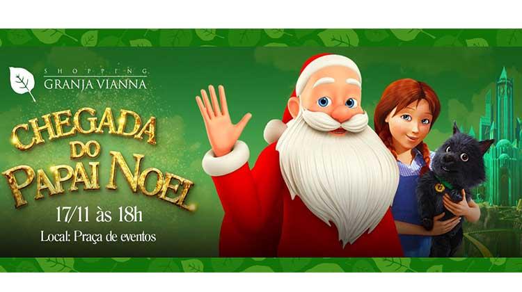 Papai Noel chega ao Granja no Sábado (17)