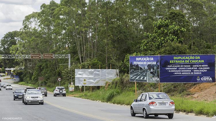 Duplicação da Estrada de Caucaia do Alto