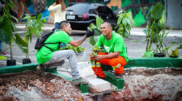 Verdejando Carapicuíba