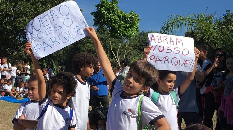 Ação pelo Parque Jequitibá – Notícia Site da Granja