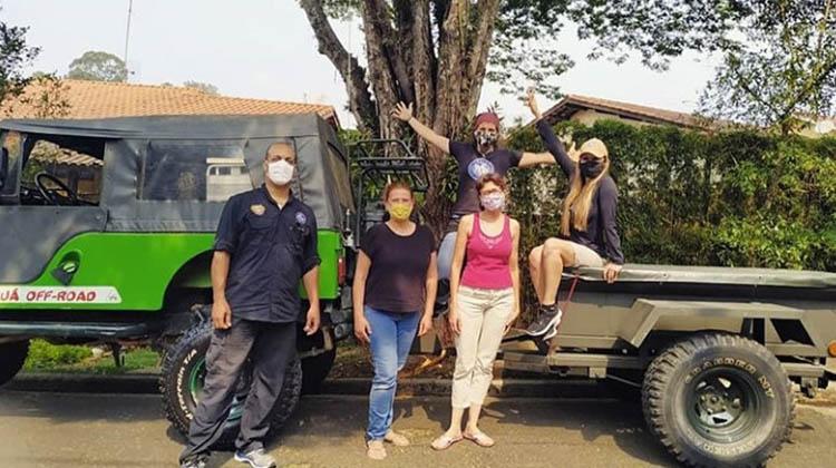 Doações a caminho do Pantanal