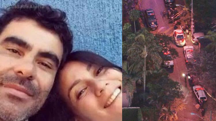 Homem mata namorada e policial e é morto durante troca de tiros, no centrinho da Granja