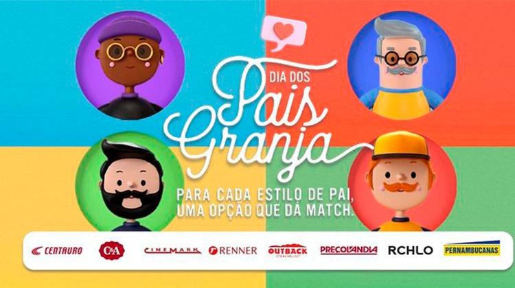 Shopping celebra o Dias dos Pais com campanha Para Cada tipo de Pai, Uma Opção que Dá Match