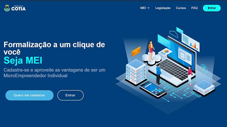 Prefeitura de Cotia cria Portal do Empreendedor para autônomos